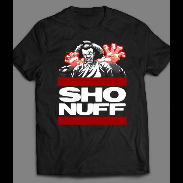"1980s MOVIE, THE LAST DRAGON'S ""SHO NUFF"" SHIRT"