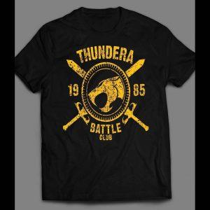80s CARTOON THE THUNDERCAT'S THUNDERA BATTLE CLUB SHIRT