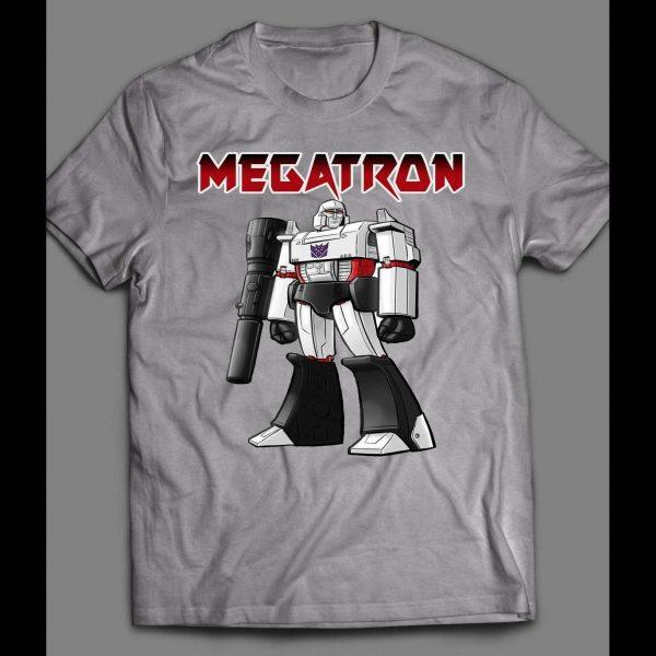 80s CARTOON TF ROBOTS DECEPTICON, MEGATRON SHIRT