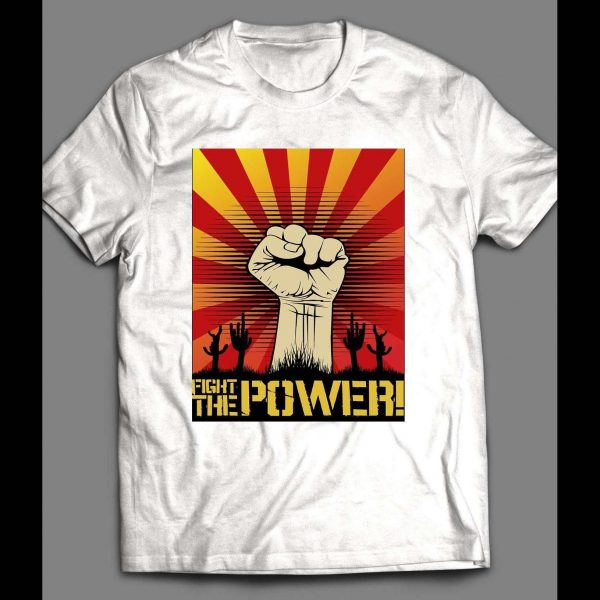 """80's RAP GROUP """"FIGHT THE POWER"""" SHIRT"""