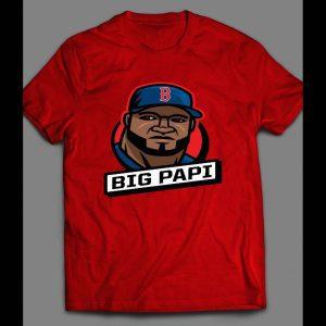 BIG PAPI ART BOSTON BASEBALL SHIRT