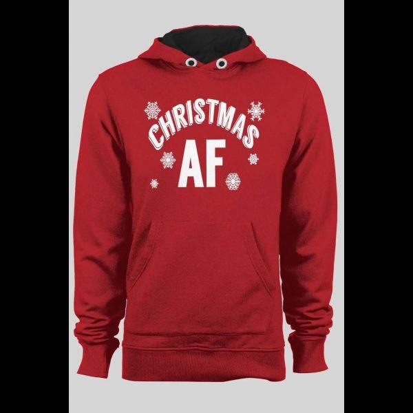 CHRISTMAS AF CHRISTMAS HOODIE