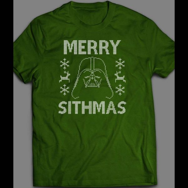 DARTH VADER MERRY SITHMAS CHRISTMAS SHIRT