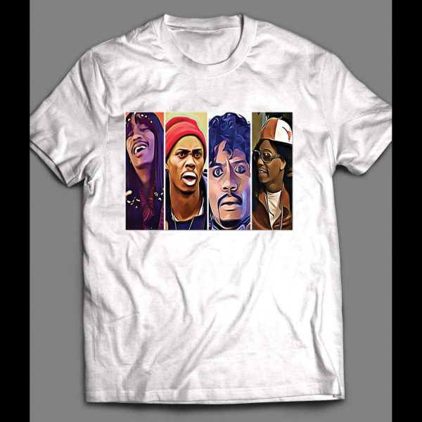 DAVE CHAPPELLE MULTI CHARACTER SHIRT