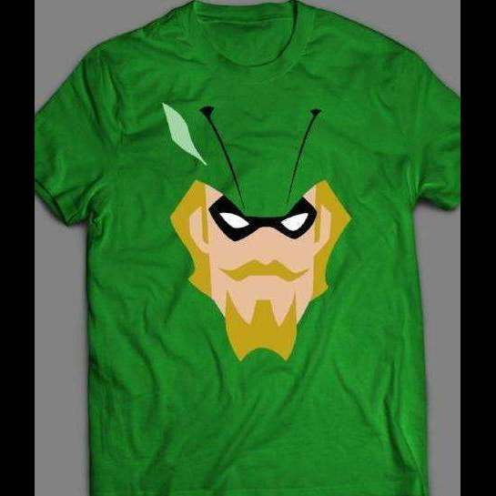 GREEN ARROW JUSTICE LEAGUE ANIMATED SERIES SHIRT