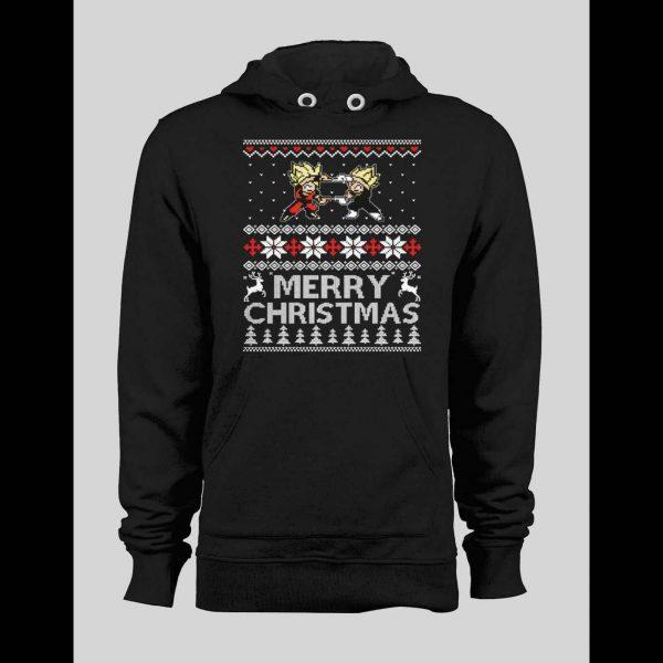 D B Z INSPIRED MERRY CHRISTMAS WINTER HOODIE