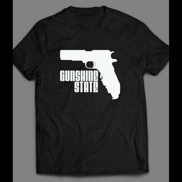 "FLORIDA GUN RIGHTS ""GUNSHINE STATE"" CUSTOM SHIRT"