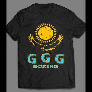 GENNADY GOLOVKIN (GGG) EAGLE LOGO BOXING SHIRT
