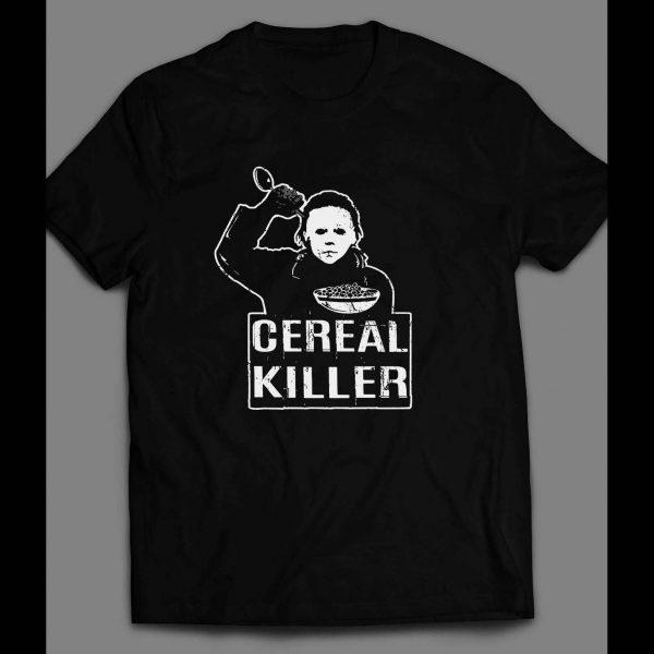 "HALLOWEEN MICHAEL MYERS ""CEREAL KILLER"" SHIRT"