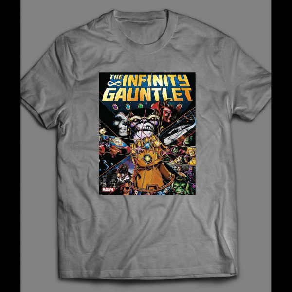INFINITY WAR THE INFINITY GAUNTLET COMIC COVER SHIRT
