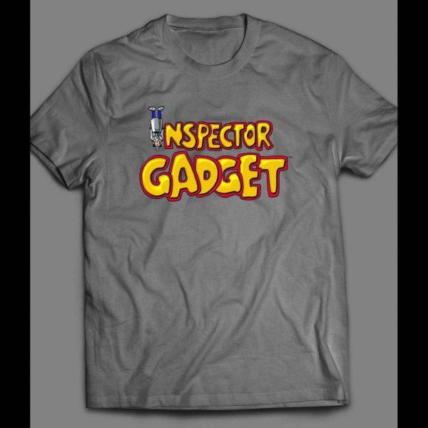 INSPECTOR GADGET UPSIDE DOWN VINTAGE SHIRT