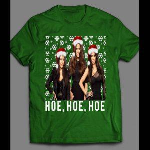 KARDASHIAN'S HOE, HOE, HOE FUNNY CHRISTMAS SHIRT