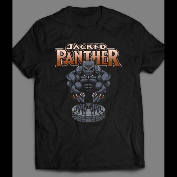 """BLACK PANTHER """"JACKED PANTHER """"GYM SHIRT"""