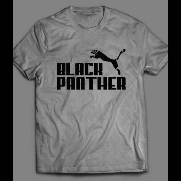 """BLACK PANTHER """"PUMA"""" MASH UP SHIRT"""