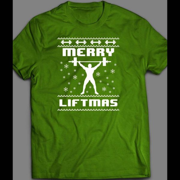 MERRY LIFTMAS CHRISTMAS GYM FITNESS SHIRT