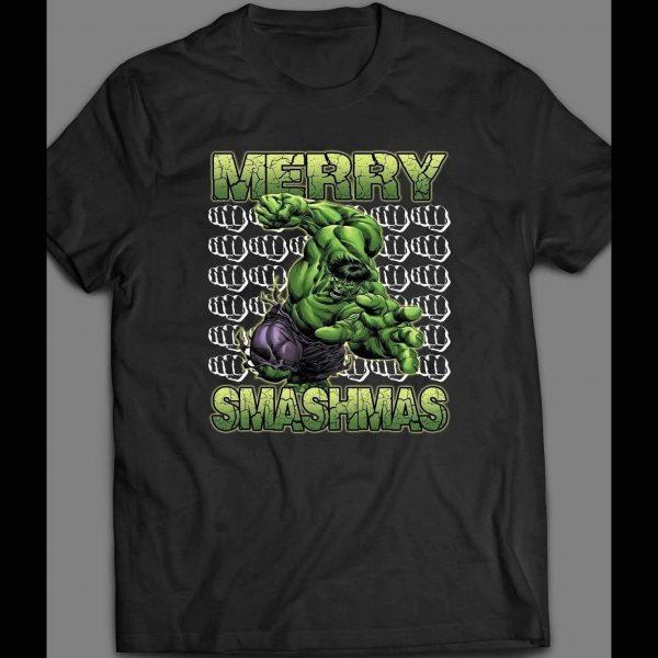 MERRY SMASHMAS HULK CHRISTMAS SHIRT