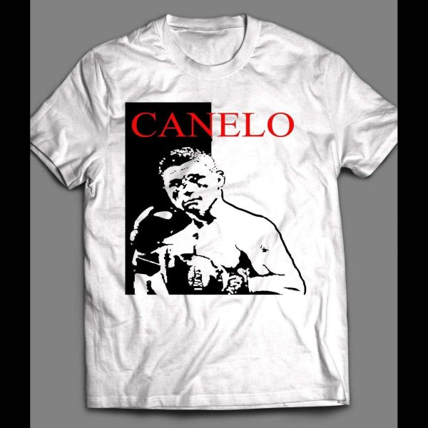 MEXICAN BOXING GREAT SCARFACE STYLE SHIRT