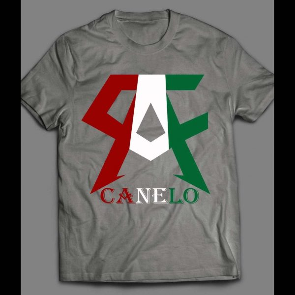 MEXICAN BOXING GREAT C.A. LOGO SHIRT
