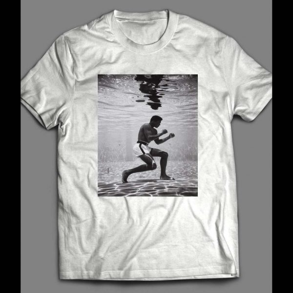 THE GREATEST OF ALL TIME UNDERWATER VINTAGE BOXING SHIRT