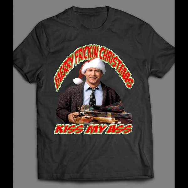 CLARK GRISWALD FUNNY ADULT THEMED CHRISTMAS SHIRT