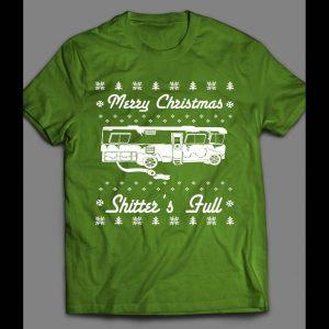 SHITTER'S FULL FUNNY CHRISTMAS MOVIE SHIRT