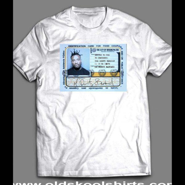 OL' DIRTY BASTARD (ODB) FOOD STAMP CARD SHIRT