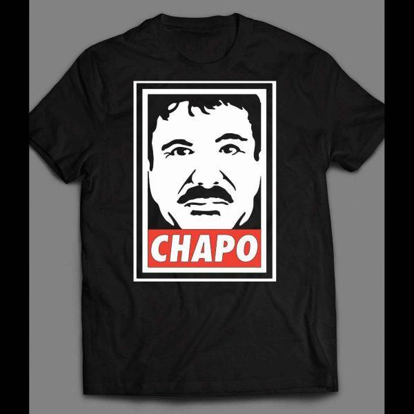 OLDSKOOL EL CHAPO OBEY STYLE SHIRT