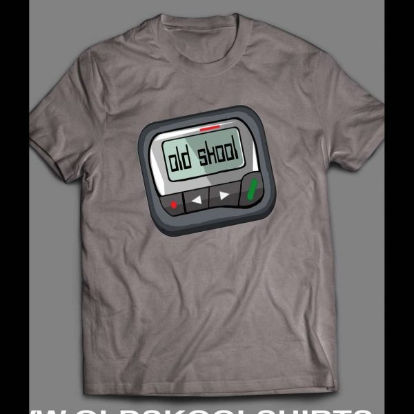 OLDSKOOL PAGER/ BEEPER SHIRT