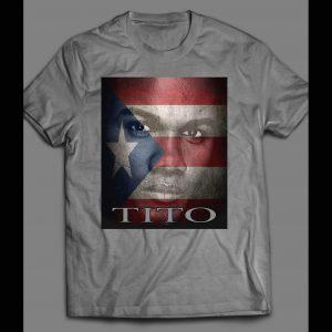"""PUERTO RICAN BOXING LEGEND FELIX """"TITO"""" TRINIDAD SHIRT"""