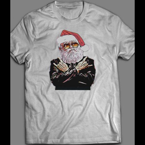 ROCKER SANTA CHRISTMAS SHIRT