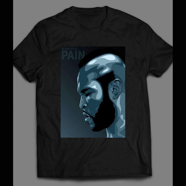 """ROCKY 3 CLUBBER LANG """"PREDICTION PAIN"""" SHIRT"""