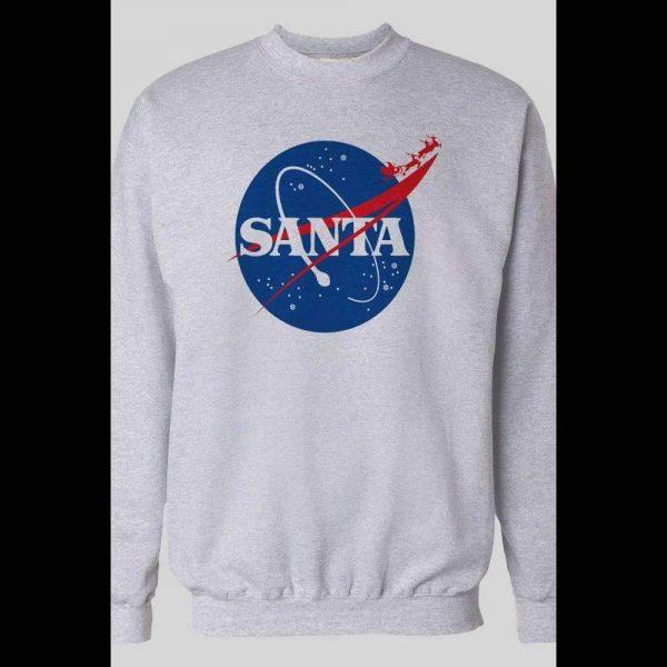 SPACE SANTA NASA PARODY CHRISTMAS SWEATSHIRT