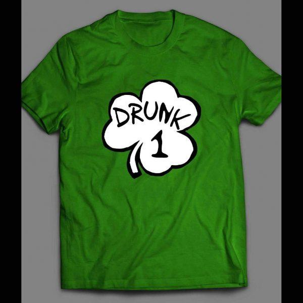 ST. PATTY'S DAY SHAMROCK DRUNK 1 FUNNY SHIRT