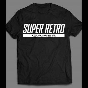 SUPER RETRO GAMER SHIRT