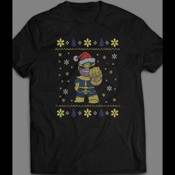 THANOS SANTA CHRISTMAS UGLY SWEATER SHIRT