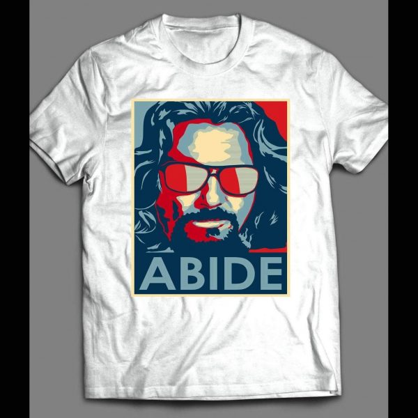 "THE BIG LEBOWSKI ""ABIDE"" POP ART SHIRT"