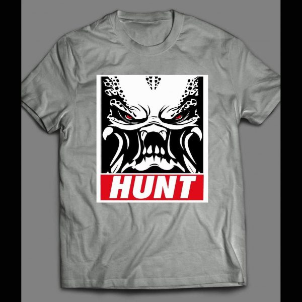 THE PREDATOR THE HUNT OBEY STYLE SHIRT