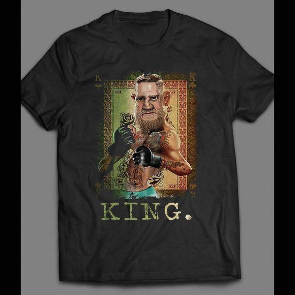 "UFC /MMA NOTORIOUS MYSTIC MAC ""THE KING"" SHIRT"