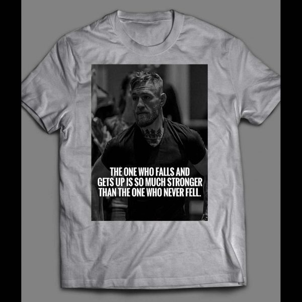 """UFC /MMA NOTORIOUS MYSTIC MAC """"THE ONE WHO FALLS"""" SHIRT"""