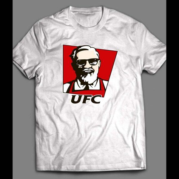 UFC /MMA NOTORIOUS MYSTIC MAC KFC PARODY SHIRT