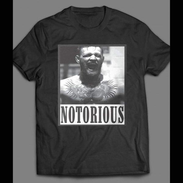 UFC /MMA NOTORIOUS MYSTIC MAC THE NOTORIOUS SHIRT
