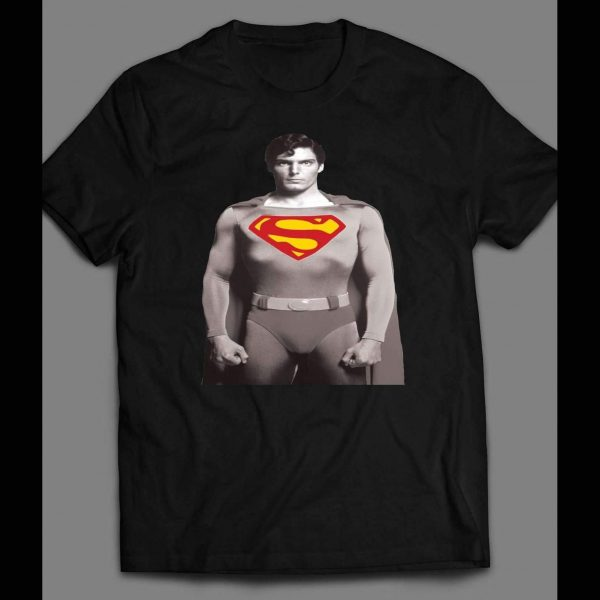 VINTAGE CHRISTOPHER REEVES SUPERMAN SHIRT