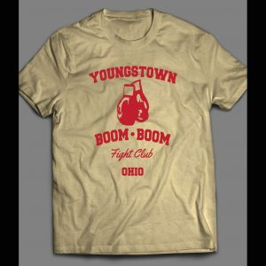YOUNGSTOWN BOOM BOOM FIGHT CLUB VINTAGE BOXING SHIRT