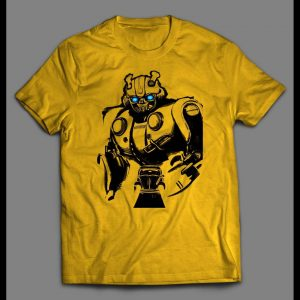 YOUTH SIZE BUMBLE BEE TRANSFORMER MOVIE ART SHIRT