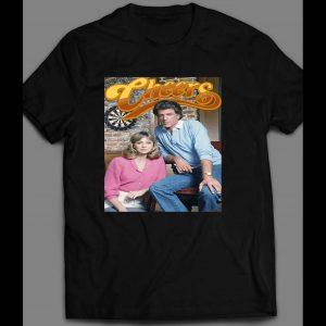 1980's TV SITCOM CHEERS SAM & DIANE PHOTO SHIRT