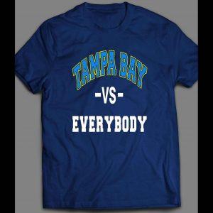 TAMPA BAY VS EVERYBODY PLAYOFF BASEBALL SHIRT
