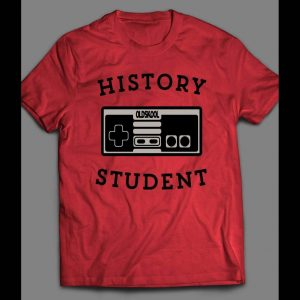 YOUTH SIZE HISTORY STUDENT OLDSKOOL GAME CONTROLLER SHIRT