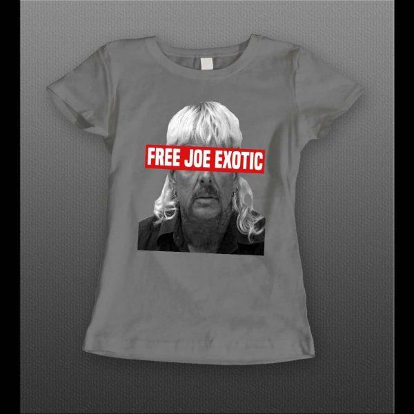 LADIES FREE JOE EXOTIC THE TIGER KING SHIRT