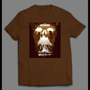 80s CLASSIC THE GOONIES MOVIE POSTER SHIRT