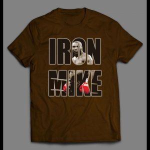 "BOXER MIKE TYSON ""IRON MIKE"" MENS SHIRT"